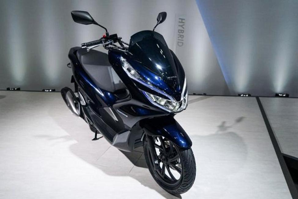 Xe Honda PCX HYBRID có thiết kế trẻ trung, khỏe khoắn và cực kỳ sang trọng
