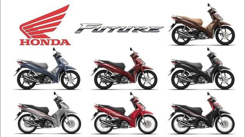 Các màu xe Honda Future 125cc
