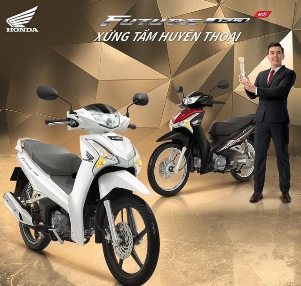 Honda Future 125cc có thiết kế nhẹ nhàng, trẻ trung, khỏe khoắn