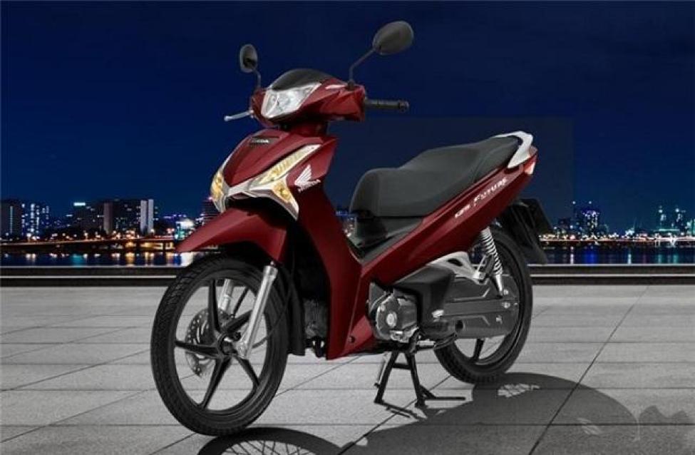 Future 125cc sở hữu hệ thống đèn led ấn tượng