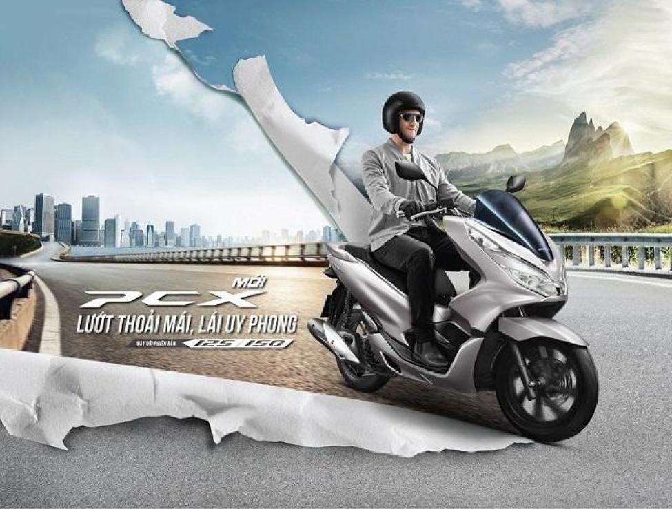 Honda PCX 125cc/150cc là dòng xe trẻ trung, khỏe khoắn và cực kỳ nam tính