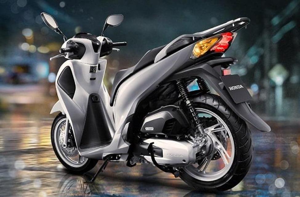 Honda SH 125cc/150cc có kiểu dáng sang trọng, đẳng cấp, mang phong cách châu Âu