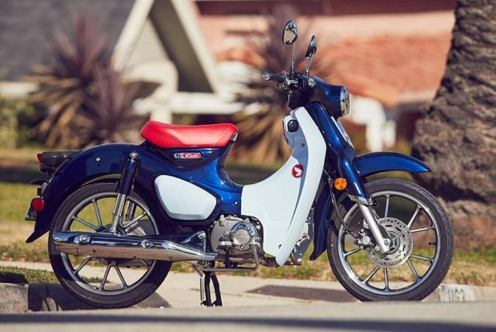 Honda SUPER CUB C125 là dòng xe nổi bật với vẻ đẹp hoài cổ