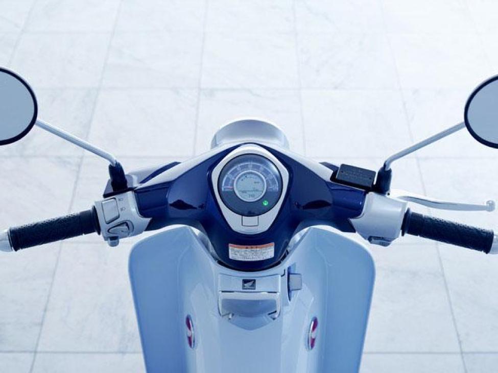 Honda SUPER CUB C125 có máy 125cc, đi rất êm, nhẹ