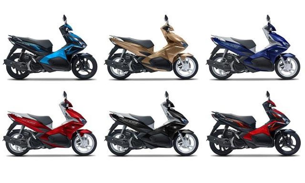 Các màu xe Honda Air Blade 125cc