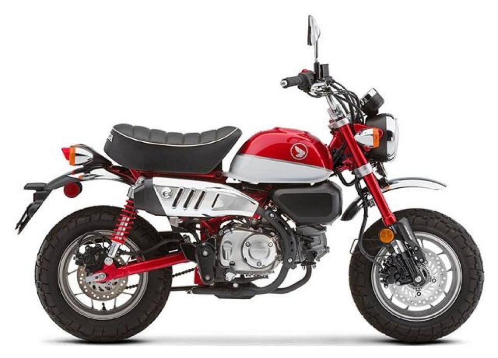 Honda Monkey là dòng xe có thiết kế tinh tế, mang màu sắc cổ điển