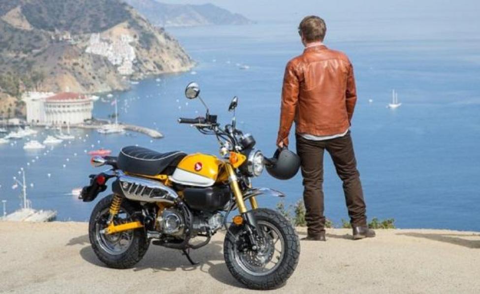 Xe Honda Monkey sẽ giúp bạn trở nên cực kỳ thu hút và phong cách