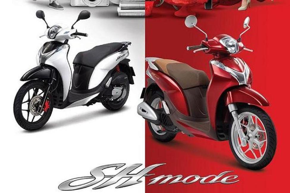 SH Mode 125cc là dòng xe sang trọng, được nhiều cô nàng yêu thích