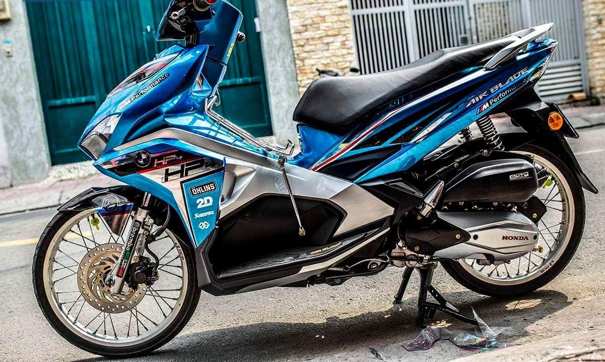 Thay đổi diện mạo nhờ dán decal xe máy airblade