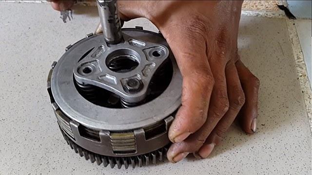 Cách thay chỉnh nồi xe wave