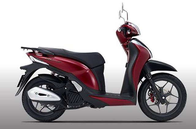 Xe Sh Mode 2020 màu đỏ