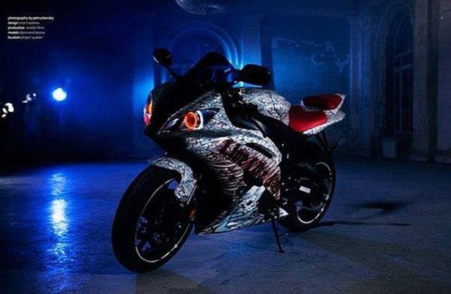 Xe Supersport YamahaR6 ngầu, quỷ dị