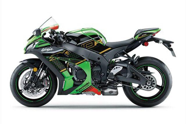 moto Kawasaki ZX-10R 2020