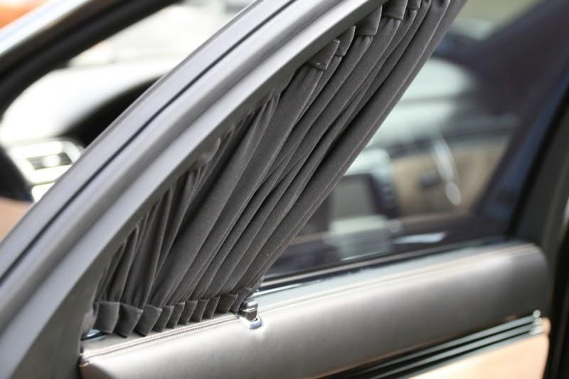 Sử dụng mành rèm cho ô tô