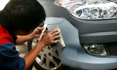 Cách xóa vết xước sơn ô tô